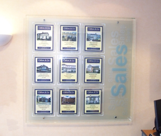 Guildford 9 Position Wall Display