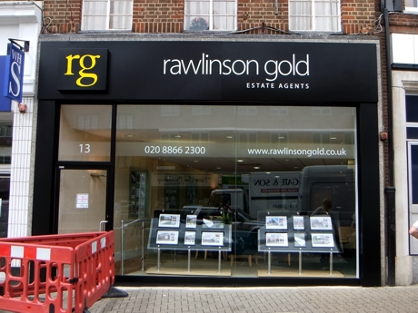 Rebranding of Rawlinson Gold, 3 North London offices completed on schedule